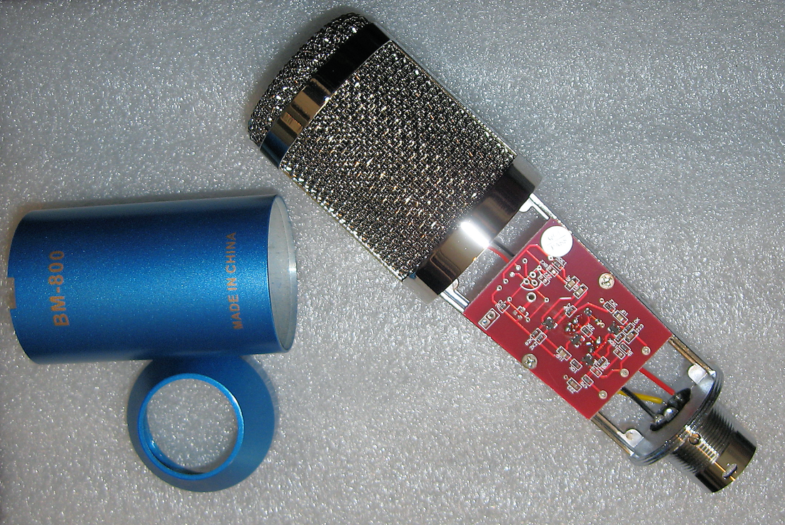 Station Boom Microphone Morning Star Observatory Circuits Audio Schematics There Is One Circuit Board In This Mic Some Of These Have Or Had A Second Unused Blank Pcb Mounted On The Opposite Side But Not